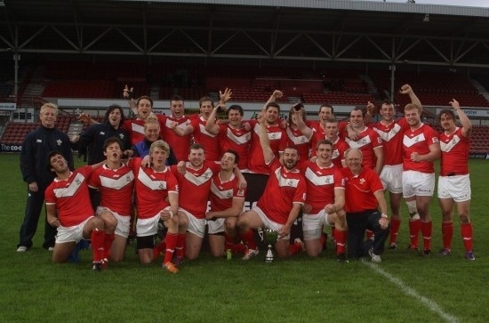 Wales Students 2012 champions winners